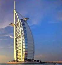 Burj Al Arab The 7 star Hotel in Dubai