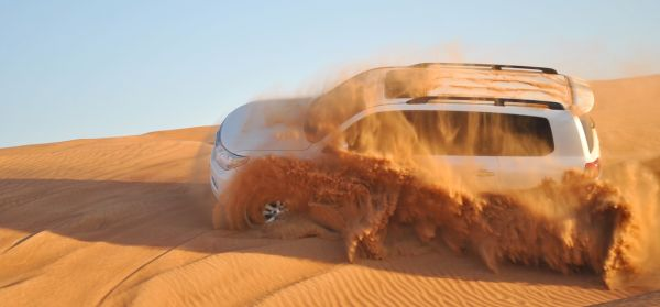Dune Bashing in Desert Safari